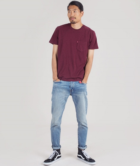 LEVIS SS Set-in Sunset Pocket T-Shirt fig