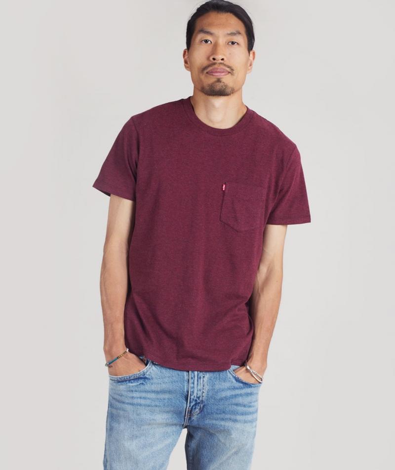 LEVIS SS Set-in Sunset Pocket T-Shirt fig