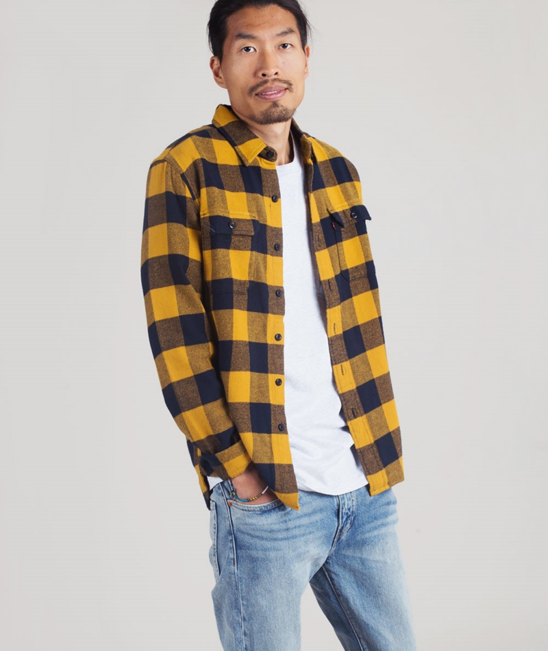 LEVIS Classic Worker Hemd Gibbon curry