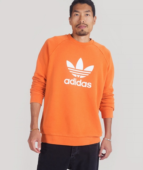 ADIDAS Trefoil Sweater craft orange