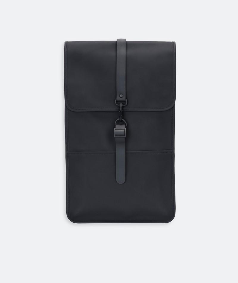 RAINS Backpack Rucksack black