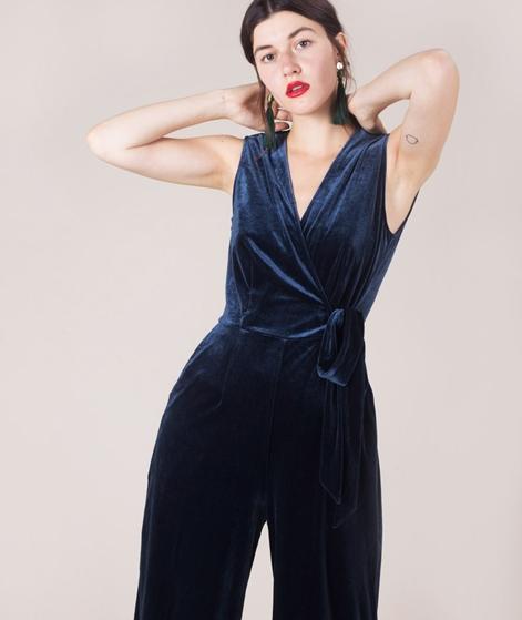 JUST FEMALE Clara Overall dark sapphire