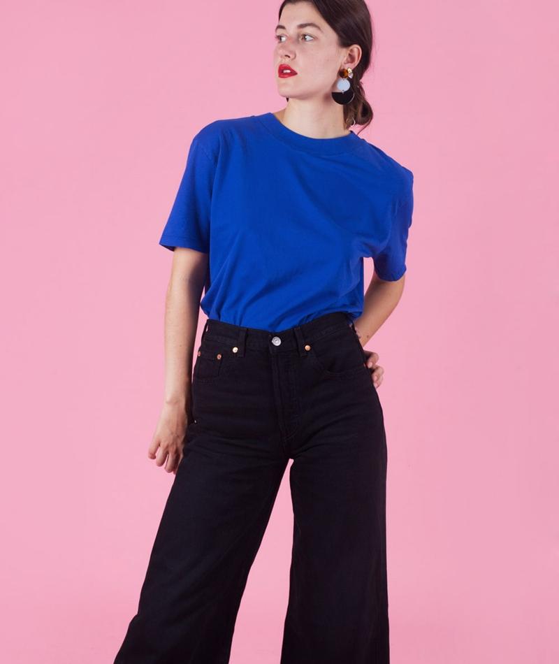 KAUF DICH GLÜCKLICH Suie T-Shirt cobalt