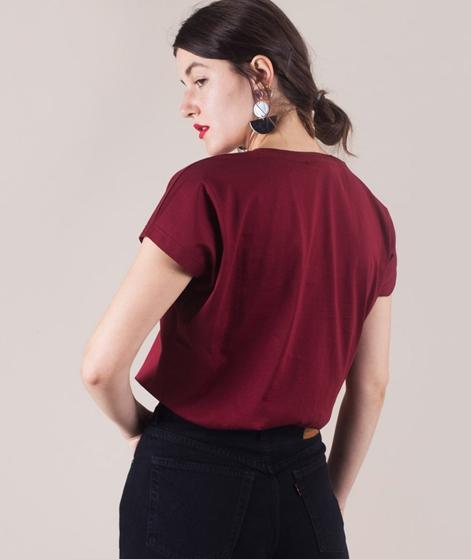 KAUF DICH GLUCKLICH Alisa Merz T-Shirt wine