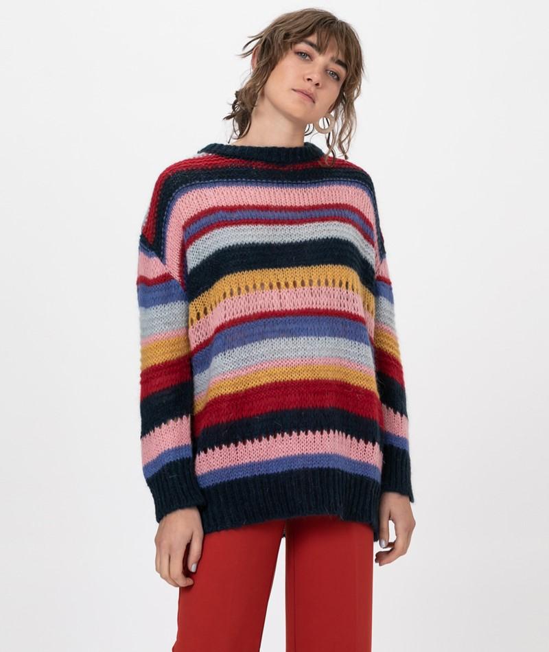 KAUF DICH GLÜCKLICH Pullover stripes