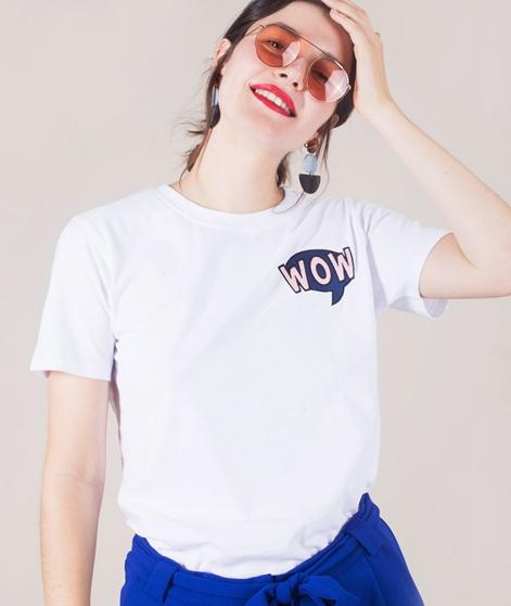 POP COPENHAGEN POP Art Wow T-Shirt white