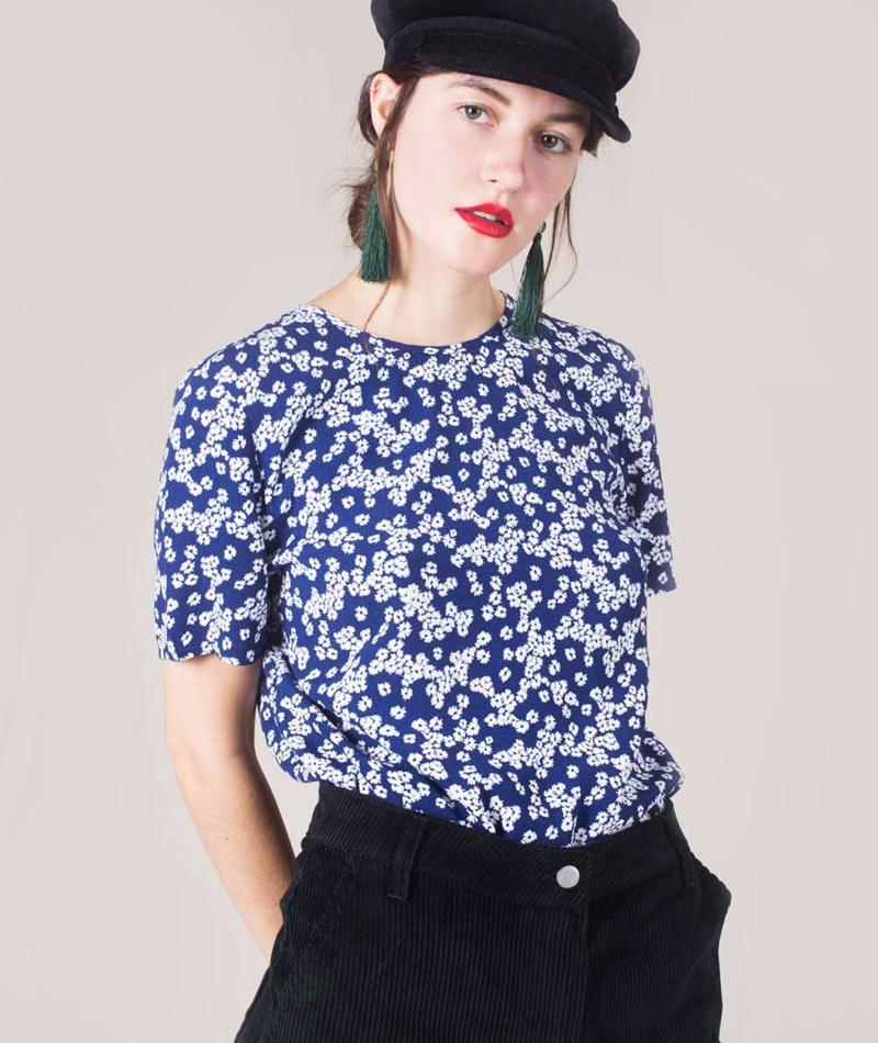 SAMSOE SAMSOE Herdis Bluse daisy blue