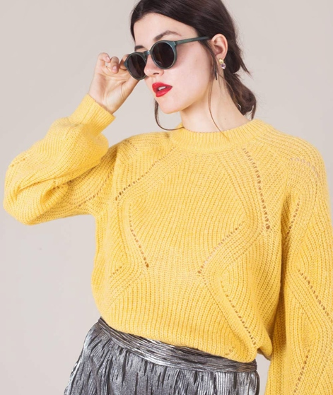 MOSS CPH Lunea Pullover misty yellow