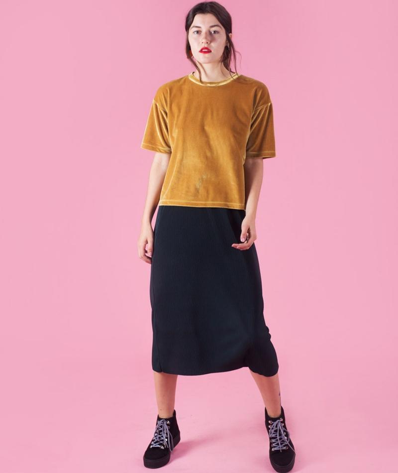 KAUF DICH GLÜCKLICH Aiga T-Shirt yellow