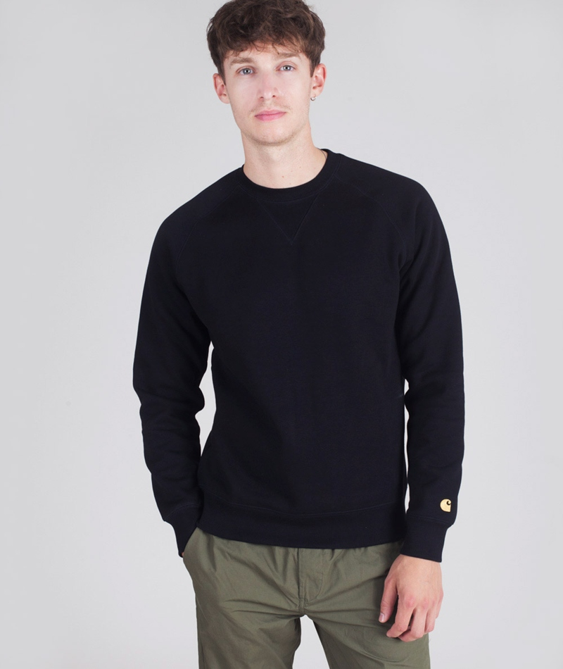 CARHARTT Chase Sweater black/gold