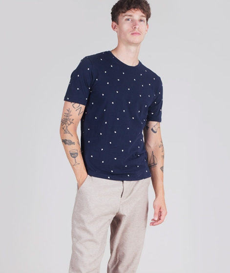 "MINIMUM Wilson ""Rain Drop"" T-Shirt navy"