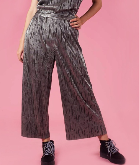 POP COPENHAGEN Ribbed Party Culotte