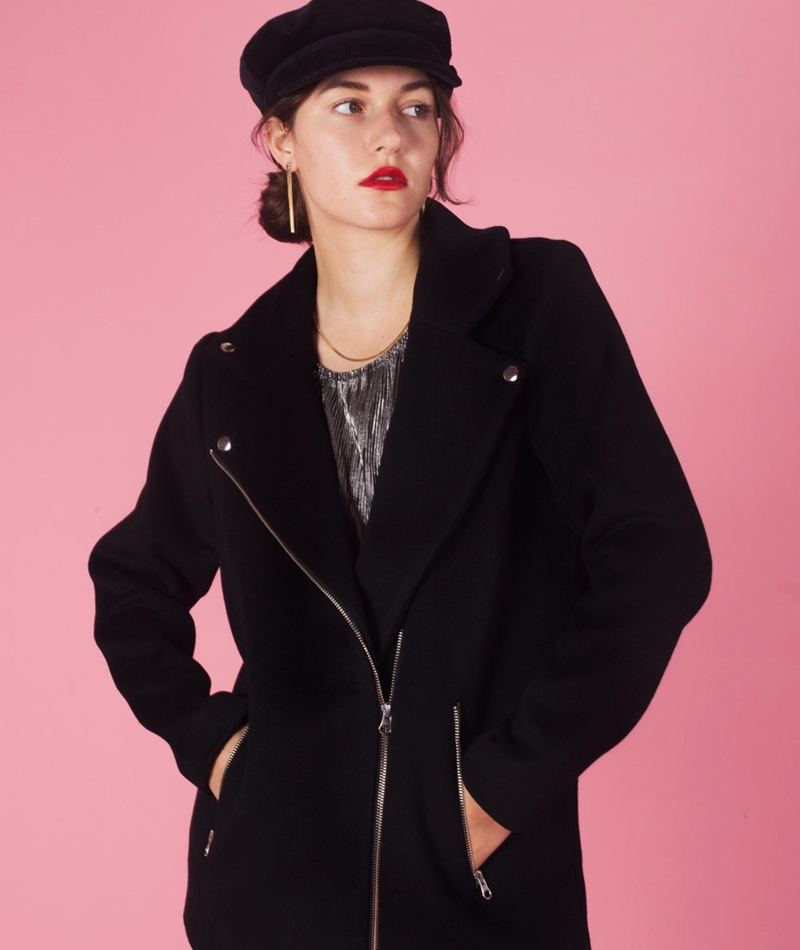 POP COPENHAGEN Bikerjacket black
