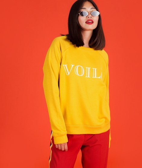 M BY M Voila Weekend Sweater cat eye