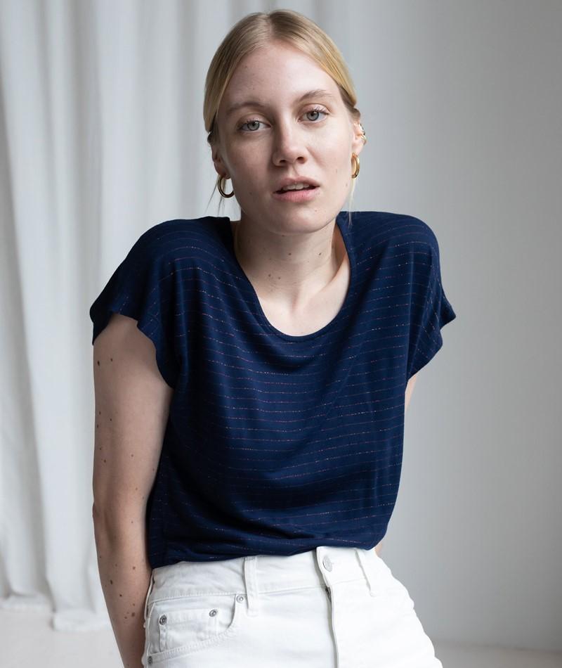 KAUF DICH GLÜCKLICH Helga T-Shirt blue l