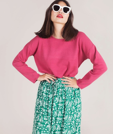 SELECTED FEMME Minna Pullover rose
