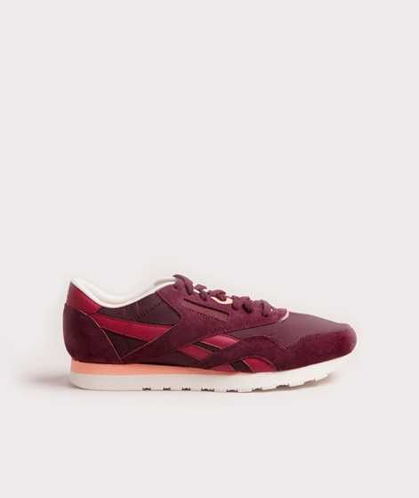 REEBOK CL Nylon Sneaker retro-maroon colligiate
