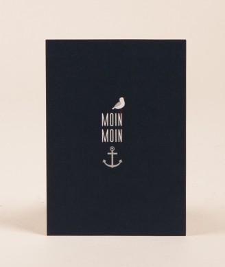 PAPIER AHOI Moin Moin Postkarte