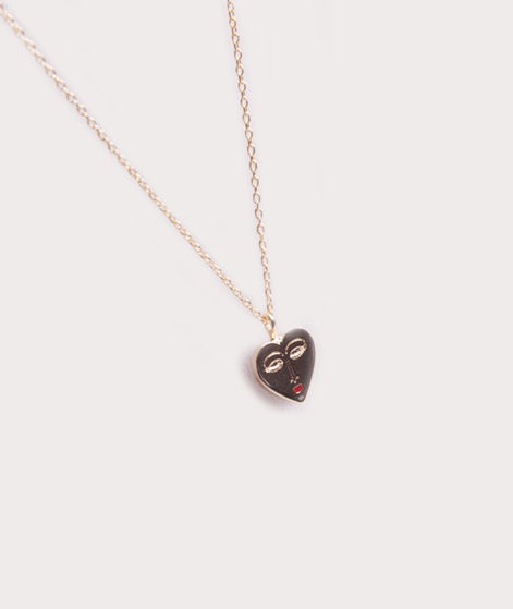 ESTELLA BARTLETT Heart Face Kette gold p