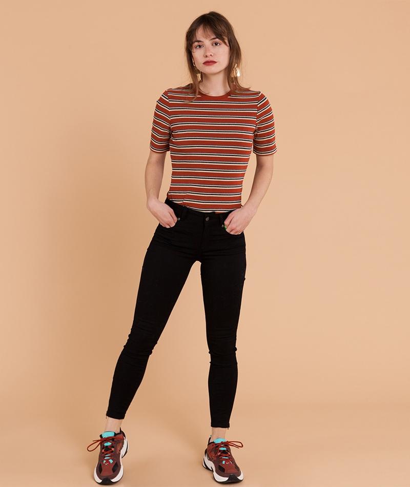 GLOBAL FUNK Two Jeans black denim