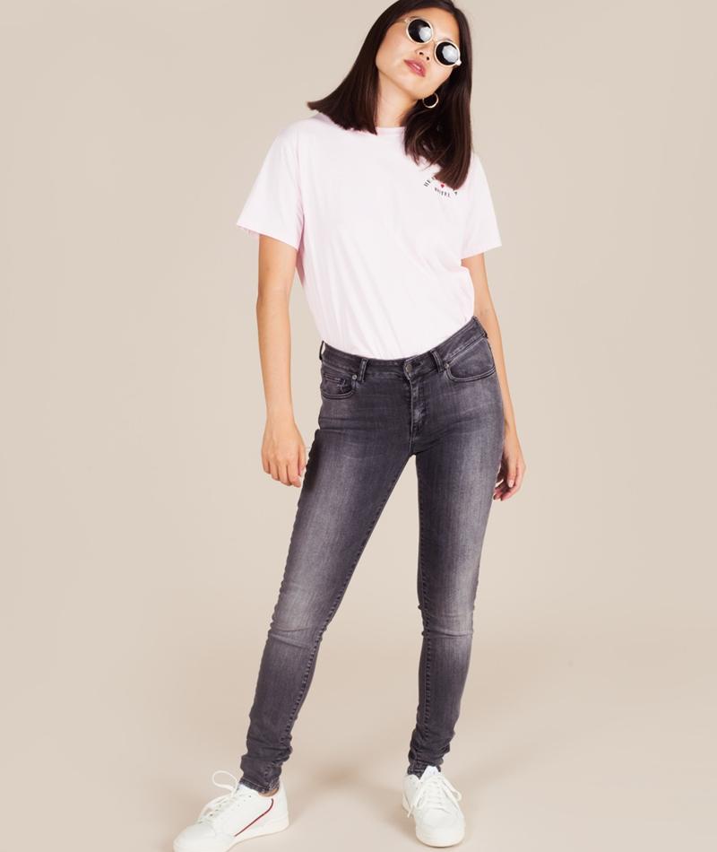 GLOBAL FUNK Eight Jeans dark grey