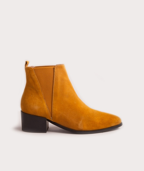 PAVEMENT Karen Stiefelette yellow suede