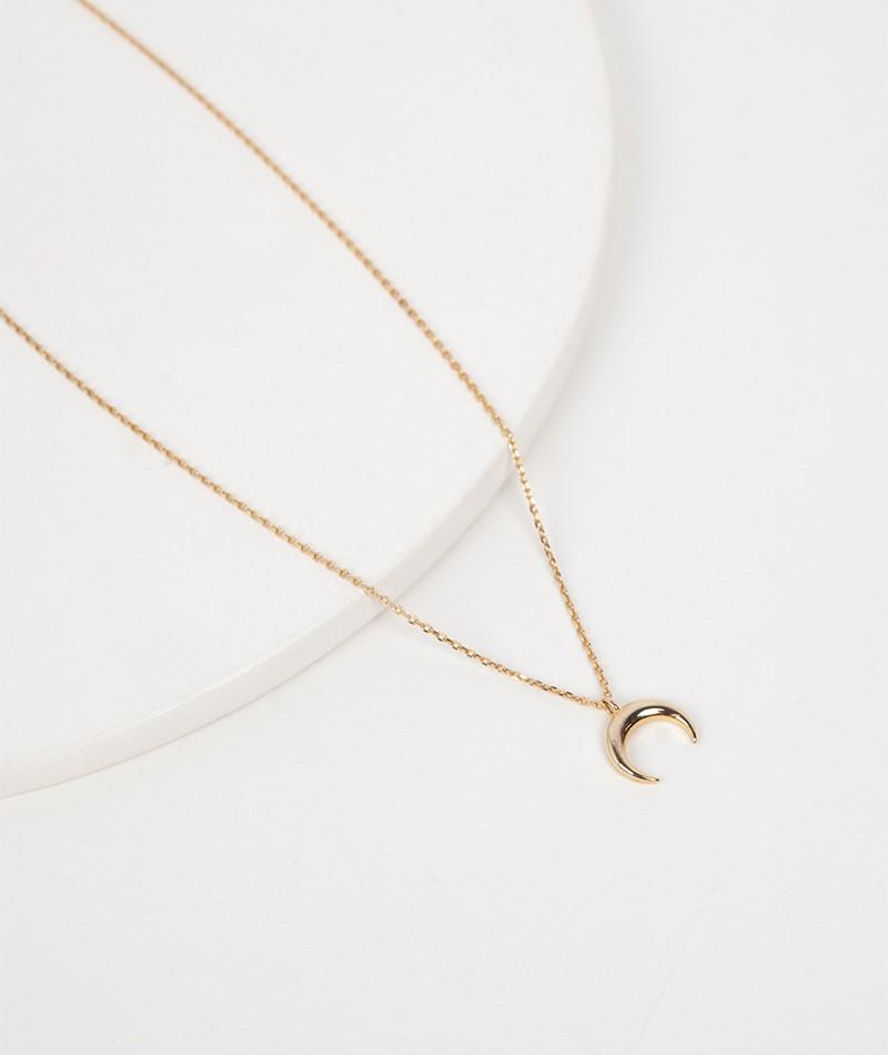 ESTELLA BARTLETT Curved Horn Kette gold