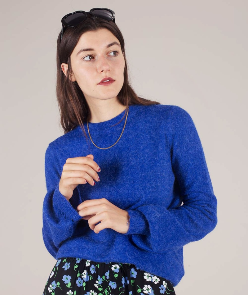 M BY M Helanor Ice Pullover reflex blue