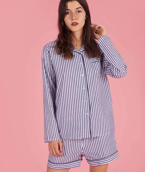 LULUS DRAWER Camille Pyjama Shorts strip