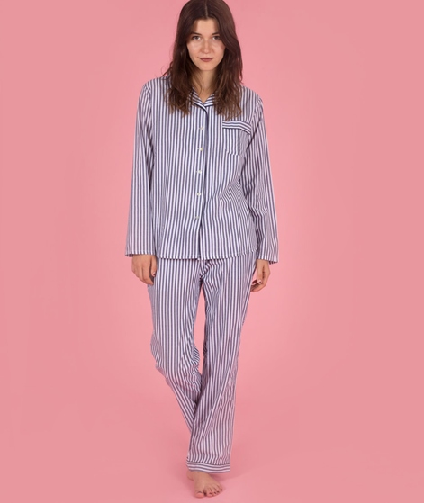 LULUS DRAWER Camille Pyjama Shirt stripe