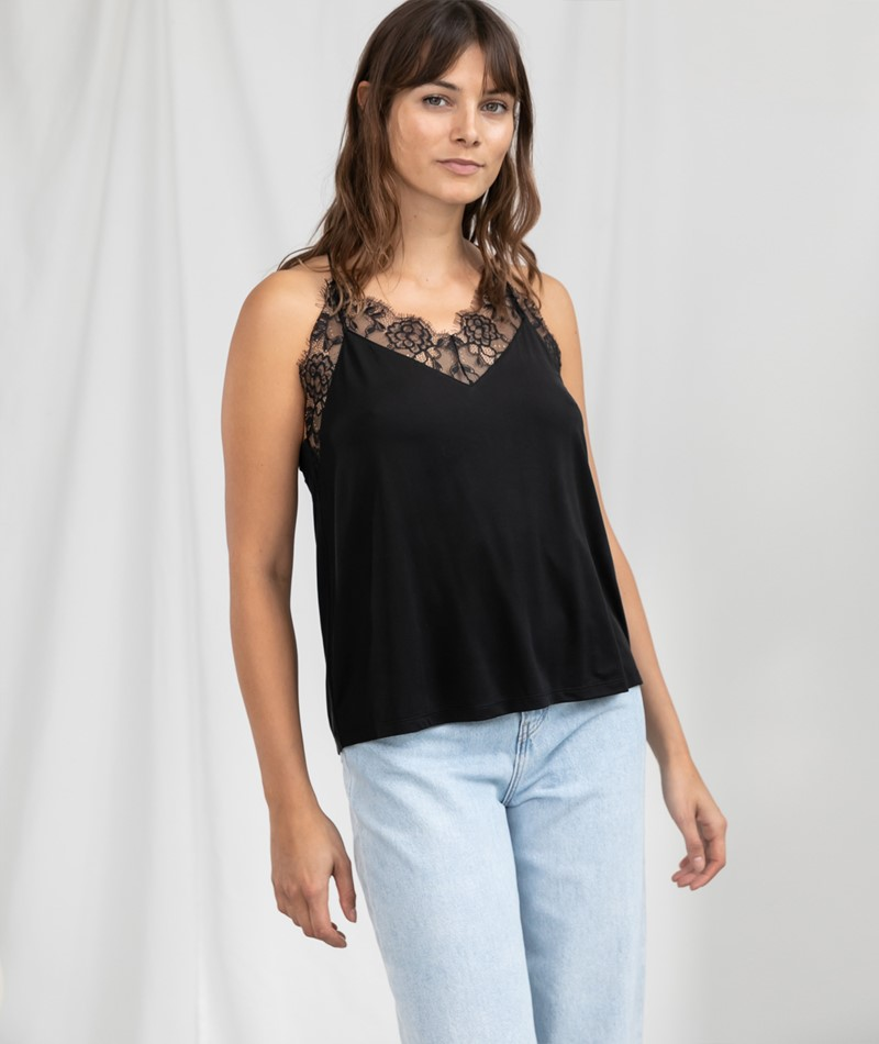 SAMSOE SAMSOE Slipin Top black