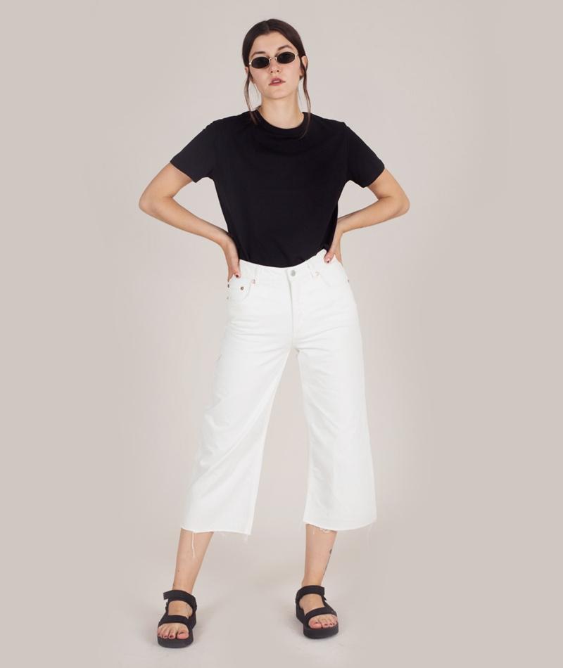 KAUF DICH GLUECKLICH Camille Organic Cotton T-Shirt schwarz
