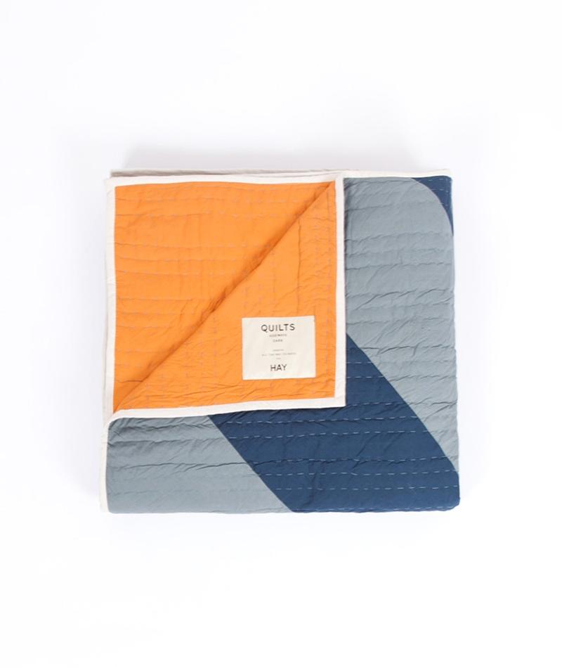 HAY Sideways Decke blue