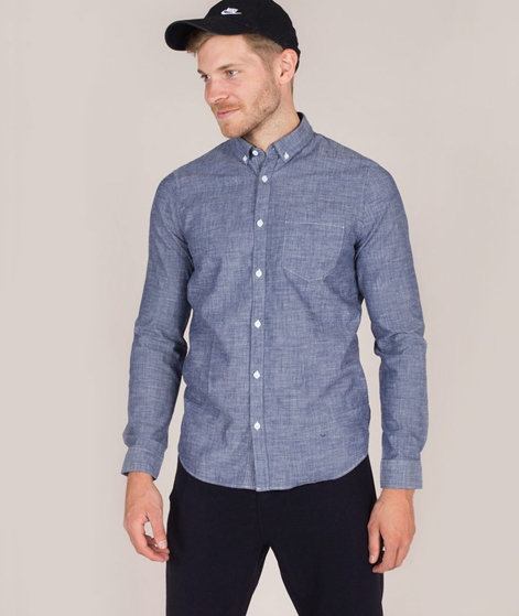NOWADAYS Button-Down Chambray Hemd middl