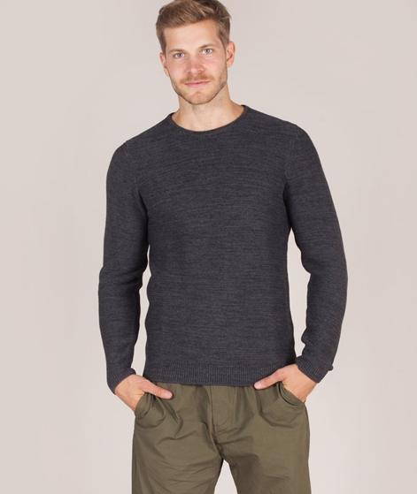 NOWADAYS Horizontal Rib Pullover anthra
