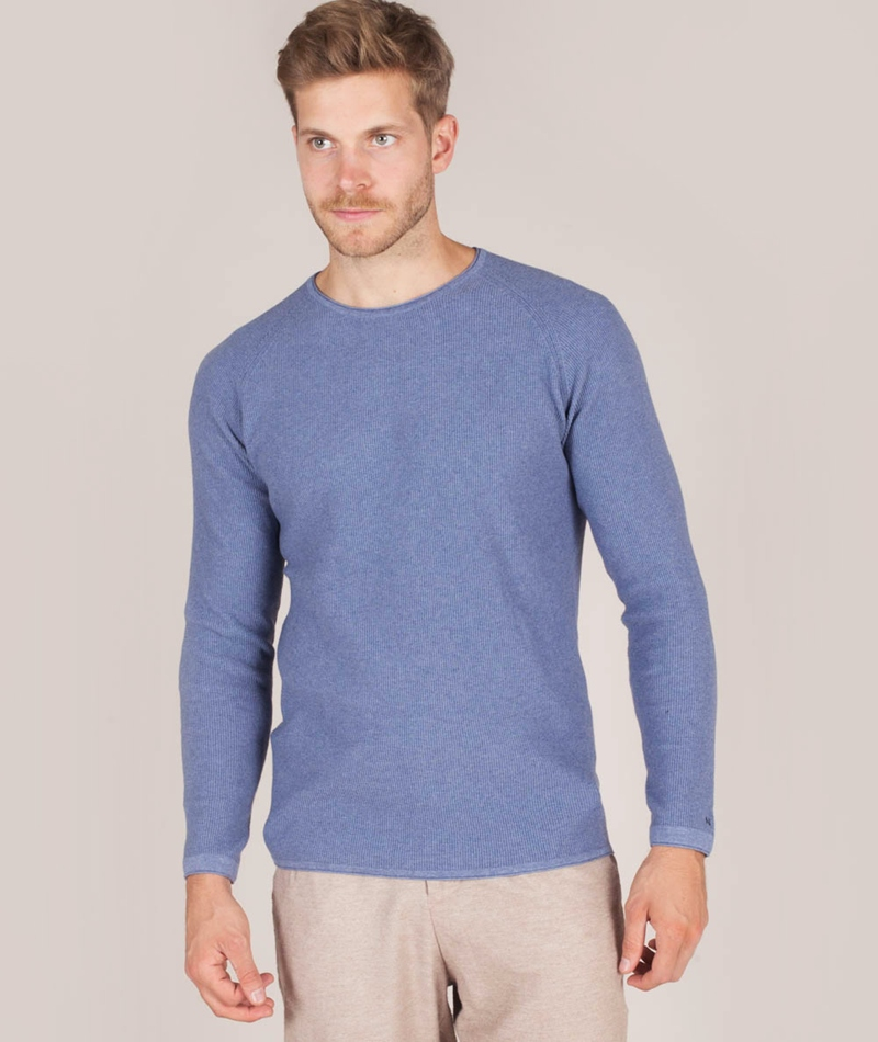 NOWADAYS Melange Cotton Pullover middle