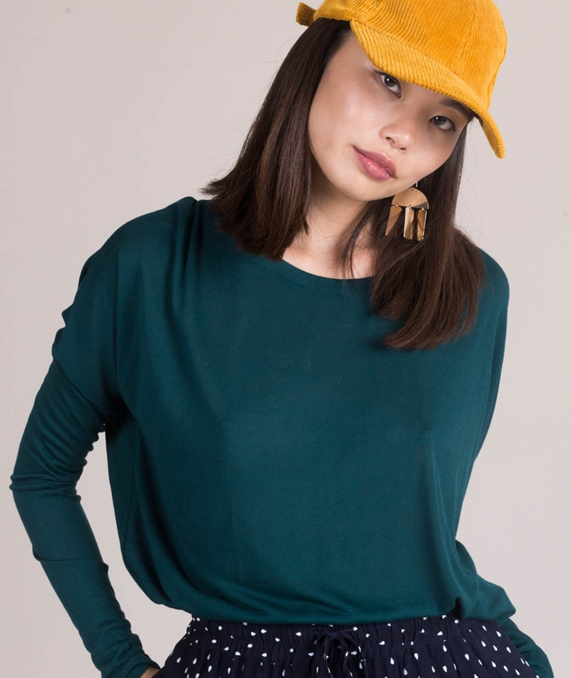 MBYM Petrol Gogreen Longsleeve emerald