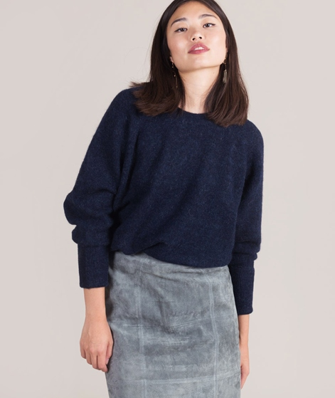 SELECTED FEMME Gold Livana Pullover navy