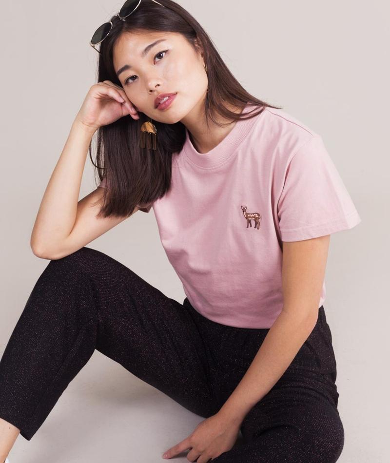 WEMOTO Tee T-Shirt powder deer