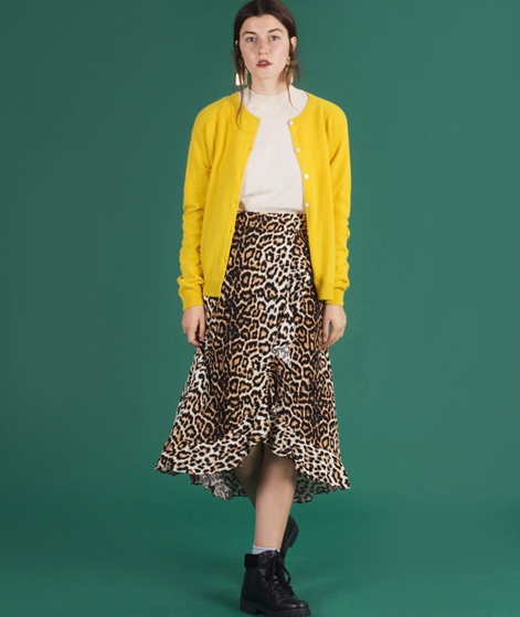 MADS NORGAARD Cimona Cardigan yellow
