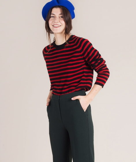 MADS NORGAARD Kaxa Sripe Pullover red/b