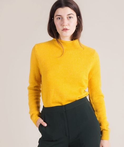 ANOTHER LABEL Mace Pullover golden rod