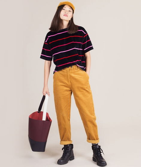 NATIVE YOUTH Manchester Cord Hose mustar