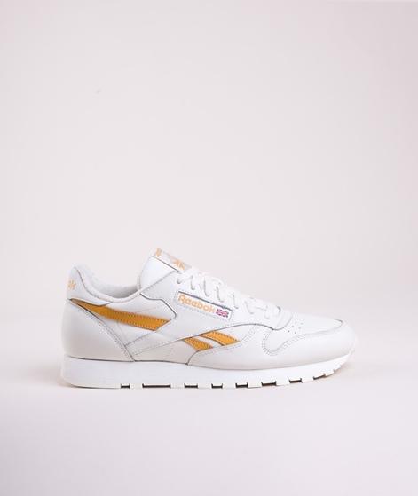 REEBOK CL leather MU Sneaker Chalk Khaki