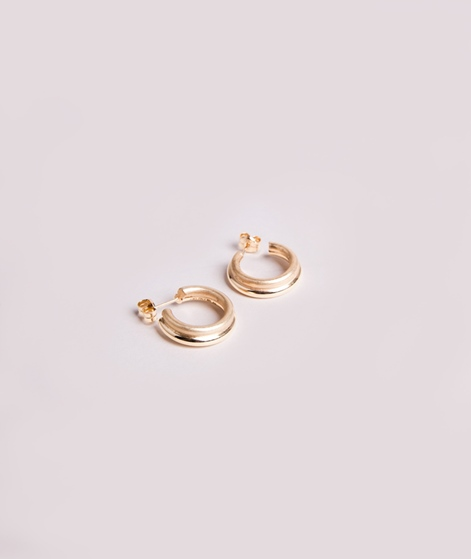 JUKSEREI Icon Hoops Ohrringe Mini gold