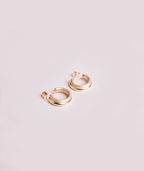 JUKSEREI Icon Hoops Ohrringe Mini gold
