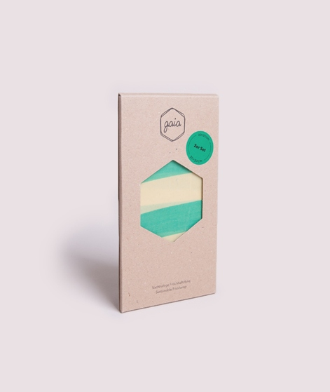 GAIA 2er Pack Frischhaltefolie grün gest