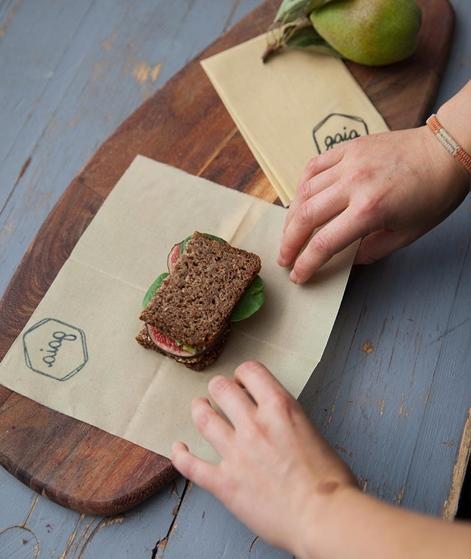 GAIA 2er Pack Frischhaltefolie grün