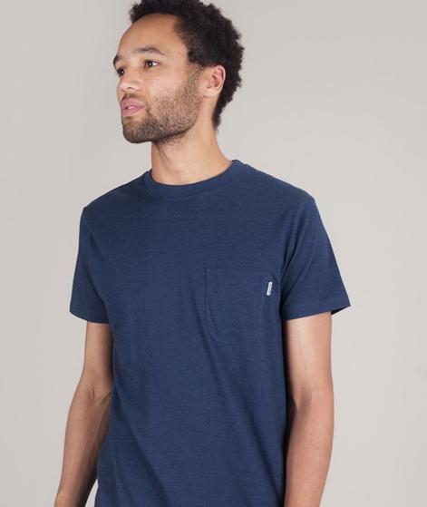 WEMOTO Blake T-Shirt navyblue melange