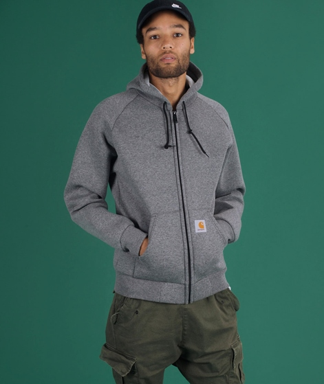 CARHARTT Car Lux Hoodie dark grey heathe